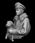 Dolman Miniatures - Oberstleutant Hans Phillip, Bust