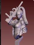 Life Miniatures: Fictional Universe - Bad Blood 2 - Bust