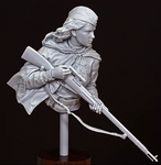 Life Miniatures - WWII Red Army Female Sniper