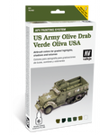 Vallejo - Model Air - AFV US Army Olive Drab Paint Set
