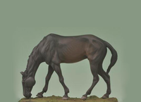Andrea Miniatures: Series General - Grazing Horse
