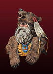 Andrea Miniatures: The Bust Collection - Bear Man