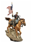 Andrea Miniatures: The Golden West - U.S. Cavalry Flag Bearer, 1876