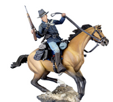 Andrea Miniatures: The Golden West  - U.S. Cavalry Trooper, 1876