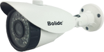 "Bolide 1/4"" 720P 1.0 Megapixel 3.6mm Lens Weatherproof IP66 Surveillance CCTV Camera 23 Infrared LEDsNight Vision Distance Wide Angle Security Bullet Camera with 1x 60ft Cable, 1x Power Adapter"