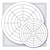 "MCI 31D-P 0-10-8 Mercury Circular Charts 0-30 PSI/0-100 PSI 31 Day 8"""
