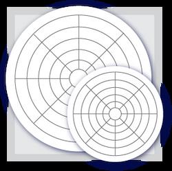 m mp hr barton circular chart paper box hr  m mp 100 24 hr barton circular chart paper box 100 0 100 24hr