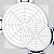 MC-100%-S American Meter/Barton Circuar Charts, (Range: 0-100% 7 day Chart), Box / 100 Charts