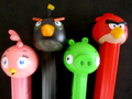 Angry Birds European Retired set of 4, loose