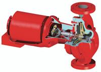 172745LF Bell Gossett 612T Series 60 Pump 1 HP Motor