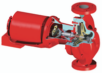 Bell Gossett 172753LF Series 60 Pump 617T 1-1/2 HP Motor