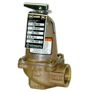110122 Bell & Gossett 790-36 ASME Safety Relief Valve