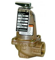 110125 Bell & Gossett 790-75 ASME Safety Relief Valve