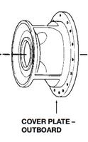 P76162 Bell & Gossett Cover Plate Outboard For VSC/VSCS Pumps