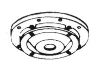 186482 Bell & Gossett Volute Cover Plate