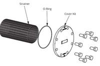 386-2409-5RP Taco Strainer & O-Ring Kit