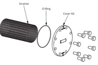 386-2418-5RP Taco Strainer & O-Ring Kit