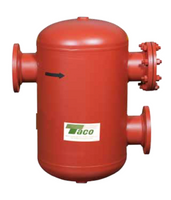 "AC04-125 Taco Air Separator Tank Type 4"" Flanged Without Strainer"