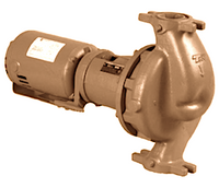 """1614D Taco Stainless Steel Pump 3/4HP 1 PH 1.5"""" Flange"""