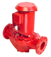 4380 Armstrong 25HP Close Coupled Vertical In-Line Pump