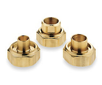 "110-557 Taco Bronze Half Union Set 3/4"" NPT"