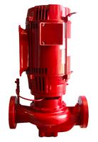Bell & Gossett e-80 Model 3 x 3 x 9.5C In-Line 7.5HP Pump