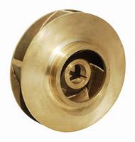 """P49640 Bell & Gossett Bronze Impeller 9-1/2"""" OD LG Bore"""
