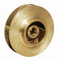 "P78255 Bell & Gossett Bronze Impeller 9-1/2"" LG Bore"
