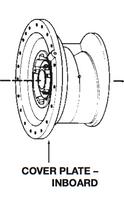 P76054 Bell & Gossett VSC/VSCS Inboard Volute Cover Plate
