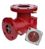 """115127 Bell & Gossett HH-3X Suction Diffuser Plus 8"""" x 8"""" Flanged"""