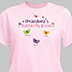 Personalized Butterfly Kisses T-Shirt for Grandma