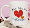 Personalized New Grandma Mug