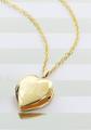 Personalized Grandma Heart Locket - Gold-Tone