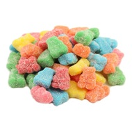 Neon Gummy Bears 5 pounds Bulk Bag