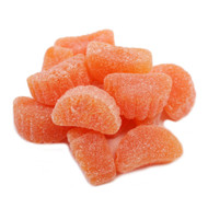 Gummi Slices Orange 5 pounds Bulk Bag