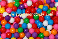 Gumballs Gum Balls Small Assorted 1/2 inch 5 Pounds 1216 pieces