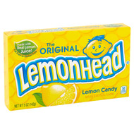Original Lemon Lemonhead Head Candy 1 box 24 units