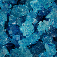 Rock Candy on String Blue 5 pounds