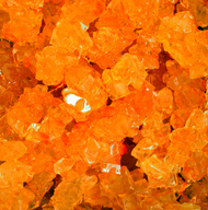 Rock Candy on String Orange 5 pounds