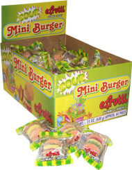 E.Frutti Sour Mini Burgers 1 pack 60 units