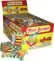 E.Frutti Mini Burgers 1 pack 60 units