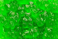 Gummy Bears Green Apple 5 Pounds
