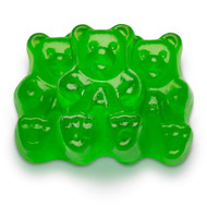 Gummy Bears Green Apple 2.5 Pounds