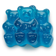 Gummy Bears Blue Raspberry 2.5 Pounds