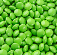 Chocolate Gems Green 2.5 Pounds