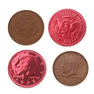Chocolate Coins Red 1 Pound
