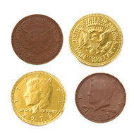 Chocolate Coins Gold 1 Pound