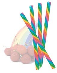 Circus Candy Sticks Rainbow 10 pieces