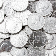 Chocolate Coins Silver Case (12 Pounds)