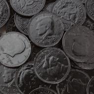 Chocolate Coins Black Case (12 Pounds)